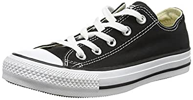 Converse Unisex Chuck Taylor All Star Low Top Sneakers -  Black - 3 D(M) US