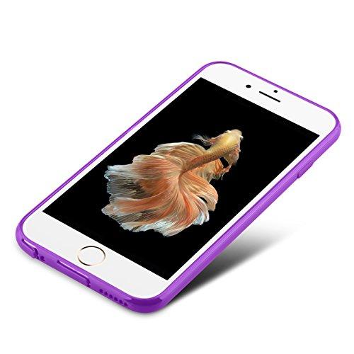 Coque iPhone 6S Plus, iPhone 6 Plus, J&D [Poids Léger] Coque Fine de Protection Antichoc de TPU pour iPhone 6S Plus, iPhone 6 Plus