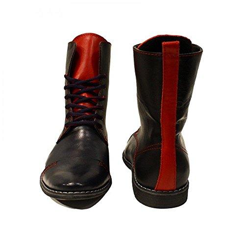 Precios De Venta PeppeShoes Modello Spada - Handmade Italiano da Uomo in Pelle Rosso Stivali Alti - Vacchetta Pelle Morbido - Allacciare Eastbay Barato Holgura Amplia Gama De lkq9IYj4Q