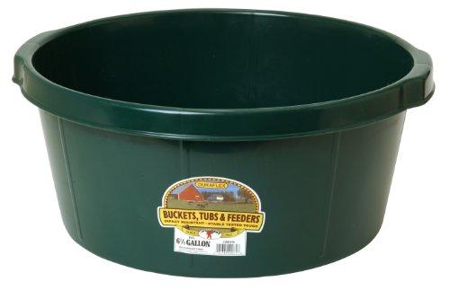 Cheap LITTLE GIANT All-Purpose Tub, 6.5-Gallon, Green