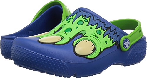 Crocs Unisex Crocband Fun Lab Creature Clog K , Blue Jean , 10 M US Toddler