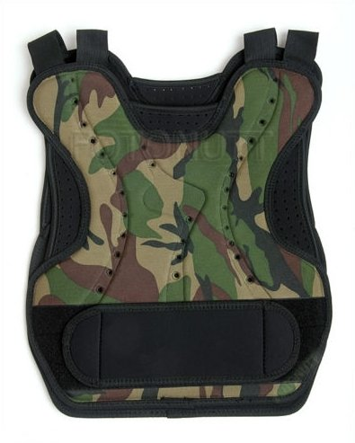 Paintball Chest protector camo body armor tactical / airsoft chest / back protector cheap