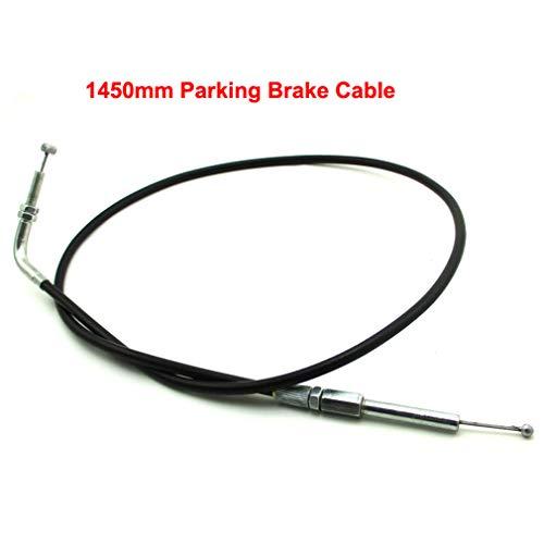 TC-Motor 57'' Parking Brake Cable For Go Kart Trailmaster 150XRX 150XRS  UTV150 GK-M06 GK-M07 / Go Kart Carter Talon 150 DLX/FX / GX/GSR / GSX