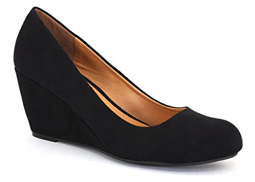 CL by Chinese Laundry Women's Nima Wedge Pump,Black,9 M US