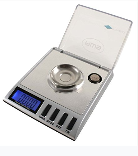 American Weigh Scales AWS-Gemini Precision Digital Milligram Scale, Silver 20 X 0.001 G