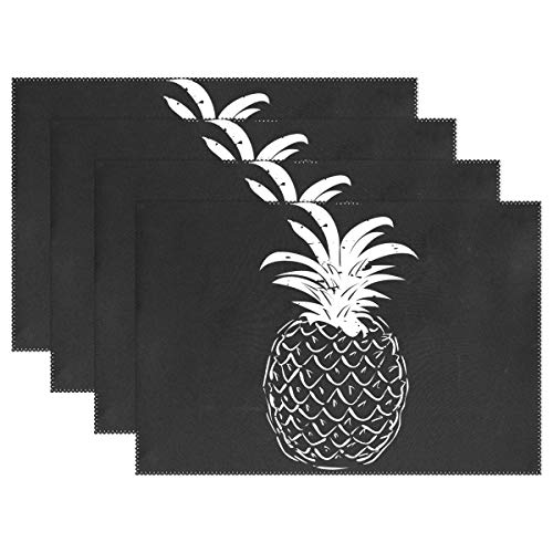 - Jojogood Pineapple Placemat Dining Table Mat 12