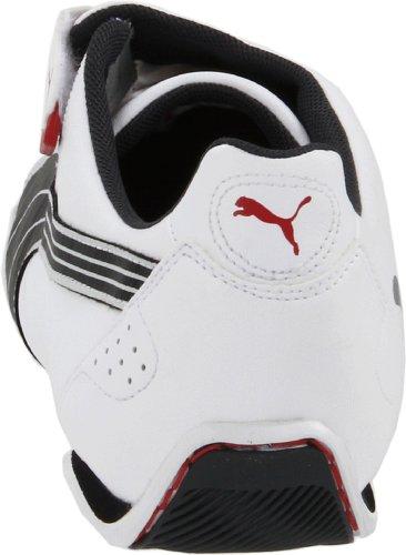 Puma Heren Redon Move Mode Sneaker Wit / Zwart / Rood Lint
