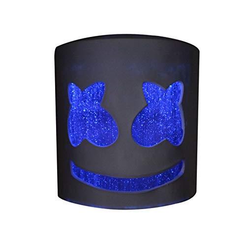 Halloween Latex Helmet Hard Mask DJ Marshmello Party Props Mask (Stepless -