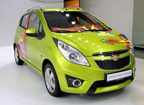 Chevrolet Spark: 120 pages with 20 lines you can use as a journal or a notebook .8.25 by 6 inches.