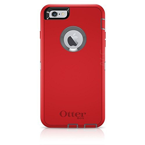 Otterbox Defender Case Rugged Protection for Apple iPhone 6/ iPhone 6S - Fire Within (Red)