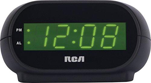 RCA Digital Alarm Clock with Night Light (Renewed)
