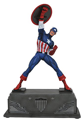DIAMOND SELECT TOYS Marvel Premier Collection: Captain America Resin Statue