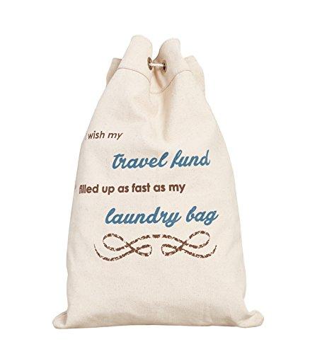 UPC 842040106775, Mona B Up-Cycled Travel Fund Laundry bag