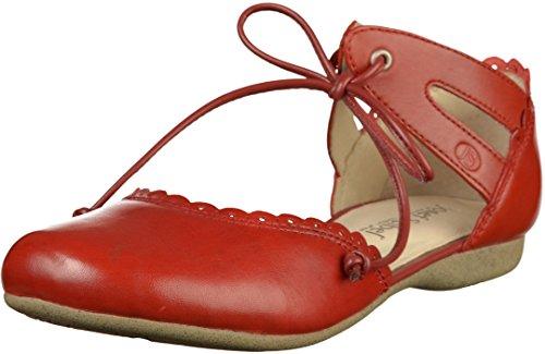 Josef Seibel WoMen Fiona 47 Ankle Strap Sandals, 12 Dark Brown