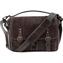 ONA The Prince Street Leather Camera Messenger Bag, Dark Truffel