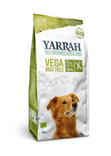 Yarrah Vega Vegetarisches Bio-Trockenfutter für Hunde – für ausgewachsene Hunde Aller Rassen | Exquisite Biologische…