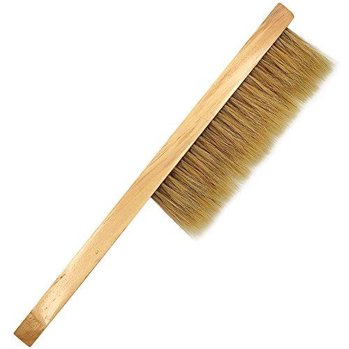 livestocktool.com Natural Horse Hair Bee Brush Wooden Handle Bristles...