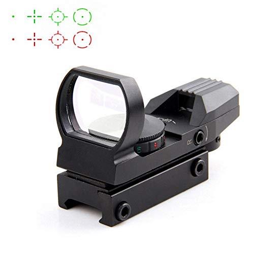 SUISHI Hot 20mm Rail Riflescope Hunting Optics Holographic Red Dot Sight Reflex 4 Reticle Tactical Scope Collimator Sight