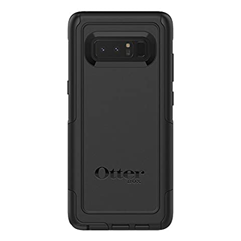 OtterBox COMMUTER SERIES Case for Samsung Galaxy Note8 - Retail Packaging - BLACK - Series Note