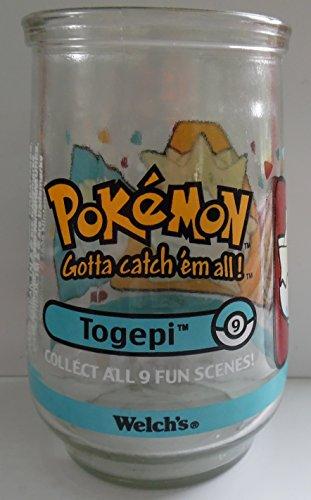 Welch's Pokemon TOGEPI Jelly Glass 1999 Photo - Pokemon Gaming