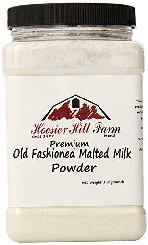 Old-fashioned Malted Milk Powder by Hoosier Hill Farm, 1.5 lbs. (Malt Powder)