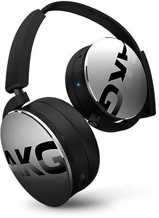 AKG Y50BT, Binaurale, Diadema, Negro, Plata, Digital, Wired/