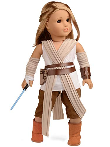 Sweet Dolly Doll Clothes Rey Inspired Doll Costume for 18 inch American Girl Doll -