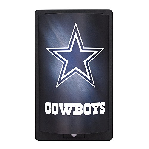 - Party Animal NFL Dallas Cowboys MotiGlow Light Up Sign, Blue, One Size