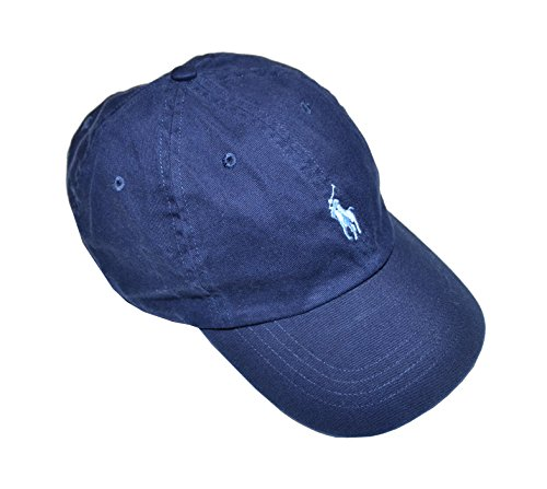 Polo Ralph Lauren Sports Pony Logo Hat Cap (One size, Newton navy)