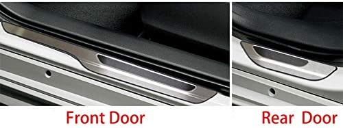 Beautost Fit for Toyota 2019 Corolla Hatchback Door Sill Scuff Plate Guard Cover Trim Stainless Steel Kate Wenzhou automobile supplies factory