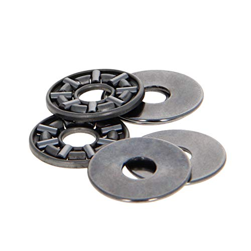 Othmro Needle Roller Thrust Bearings Each with Two Washers AXK0619 2pcs
