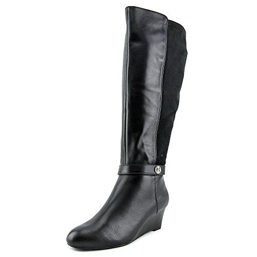 New Giani Bernini Womens Dafnee Wide Calf Round Toe Leather Fashion Boots supplier