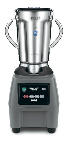 Waring Commercial CB15 Food Blender with Electronic Keypad, (3 Commercial Food Blender)