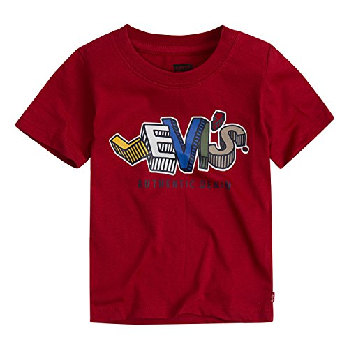 Levi's Baby Boys' Graphic T-Shirt, Chili Pepper, 24M