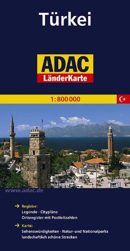 ADAC Länderkarte Türkei 1:800.000 (ADAC Länderkarten)