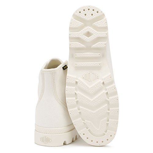 Pampa UK Palladium Marshmallow 11 Bottes Originale Blanc Hi pBExTBOw