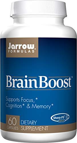 (Jarrow Formulas Jarrow Formulas Brainboost, Supports Focus, Cognition & Memory, 60 Caps)