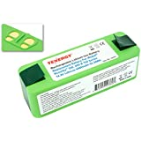Tenergy Replacement Battery for iRobot Roomba 500, 600, 700, 800 series 14.8V Lithium 4400mAh Battery