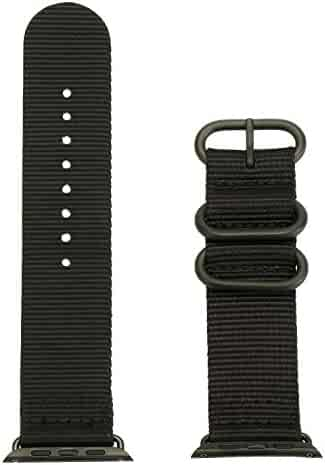 Nylon Watch Strap Wrist Band Watch Strap Watchband Replacement Watch Belt Strap for Apple Watch 38mm