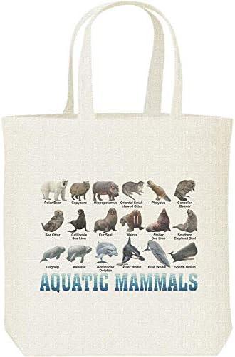 エムワイディエス(MYDS) 水棲 哺乳類のリスト/キャンバス M トートバッグ