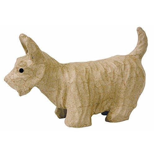 Decopatch SA118 Decoupage Papier Mache Animal Scottie Dog