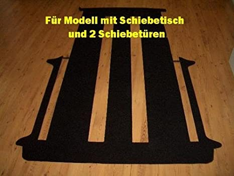 Fußmatte Fußmatten Autoteppich Mitte VW Bus T4 Multivan
