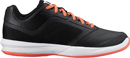 Nike Womens White / Pure Platinum / Nero Dual Fusion Ballistec Vantaggio Scarpa Da Tennis - 7.5 B (m) Us Black / Orange