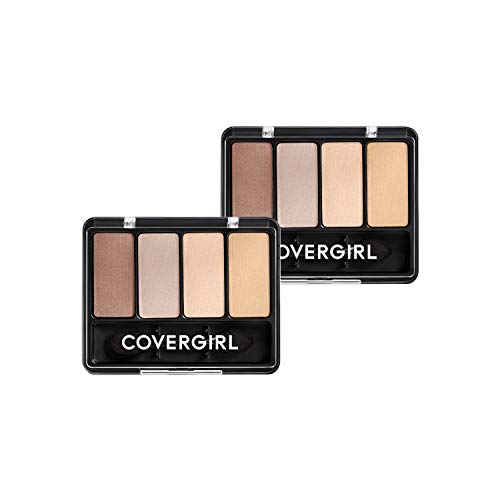 Covergirl Eye Enhancers 4 Kit Eye Shadow, Sheerly Nudes, 2 Count
