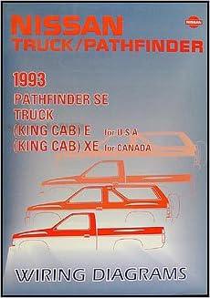[NRIO_4796]   1993 Nissan Truck and Pathfinder Wiring Diagram Manual Original: Nissan:  Amazon.com: Books | 1993 Nissan Pathfinder Wiring Diagram |  | Amazon.com