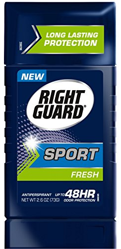 Right Guard Sport Antiperspirant Up To 48HR, Fresh 2.6 oz ( Pack of 6 )