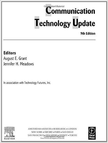 8281c415c071 Communication Technology Update  Amazon.co.uk  August E. Grant ...