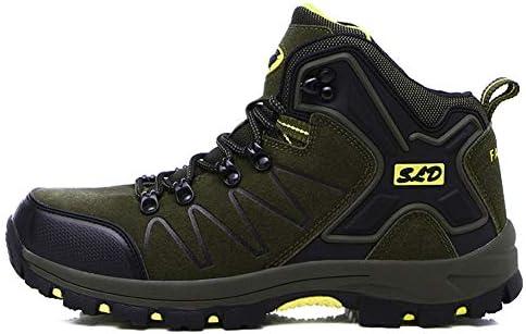トレッキングシューズ メンズ 防水 防滑 ハイカット 登山靴 大きいサイズ ハイキングシューズ メンズ 耐磨耗 ハイキングシューズ メンズ 通気性 スニーカー