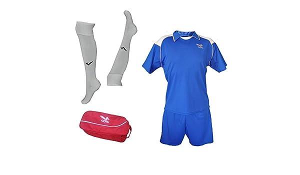 ZICO ESPAÑA Conjunto equipación Fútbol Hombre Azul Royal, Camiseta ...