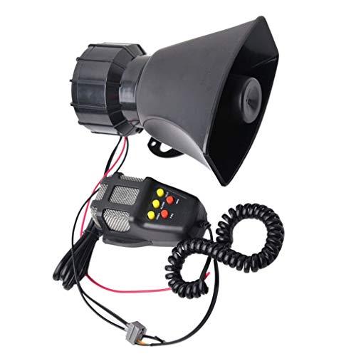 Morza 60W ABS Carro del Coche de Alarma del vehículo Loud ...